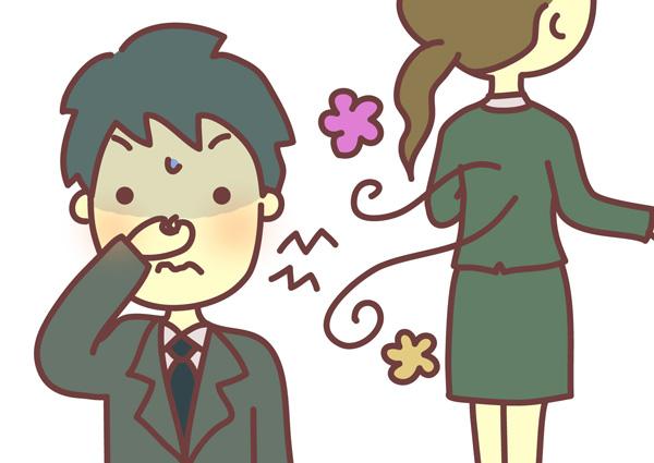 女性の気になる体臭